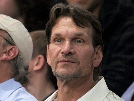 Patrick swayze in agony with his cancer